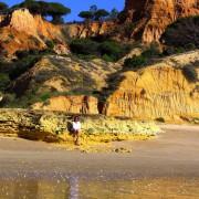 Praia da Falesia am 26.12.2014