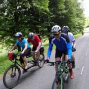 Rad-Reisen für Blinde